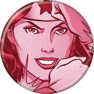 "DC Comics Wonder Woman Red 1.25"" Pinback Button"