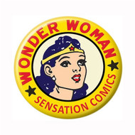 "DC Comics Wonder Woman Sensation 1.25"" Pinback Button"