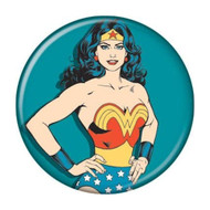 "DC Comics Wonder Woman Teal 1.25"" Pinback Button"