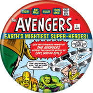 "Marvel Comics 1980s Avengers #1 Cover 1.25"" Pinback Button"