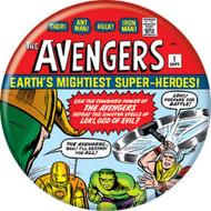"Marvel Comics 1980s Avengers #1 Cover 1.25"" Pinback Button"