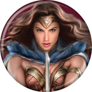 "DC Comics DOJ Wonder Woman Sword 1.25"" Pinback Button"