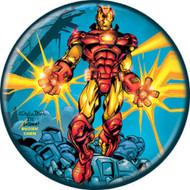 "Marvel Comics 1980s Invincible Iron Man #2 Cover 1.25"" Pinback Button"