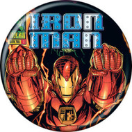 "Marvel Comics 1980s Iron Man Vol 2 #1 Cover 1.25"" Pinback Button"
