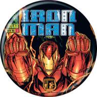 "Marvel Comics 1980s Iron Man Vol 2 #1 Cover 1.25"" Pinback Button"