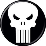 "Marvel Comics Punisher Logo 1.25"" Pinback Button"