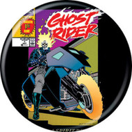 "Marvel Comics 1980s Ghost Rider Vol 2 #1 Cover 1.25"" Pinback Button"