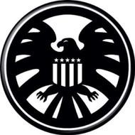 "Marvel Comics SHIELD Logo 1.25"" Pinback Button"