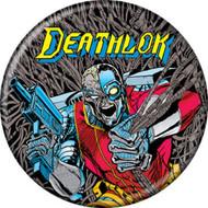 "Marvel Comics 1980s Deathlok #1 Cover 1.25"" Pinback Button"