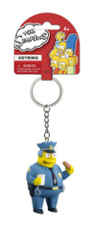 The Simpsons Chief Wiggum Figural Keychain
