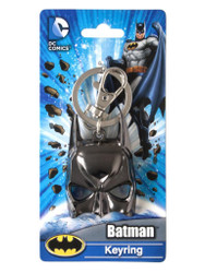 DC Batman Mask Pewter Key Ring