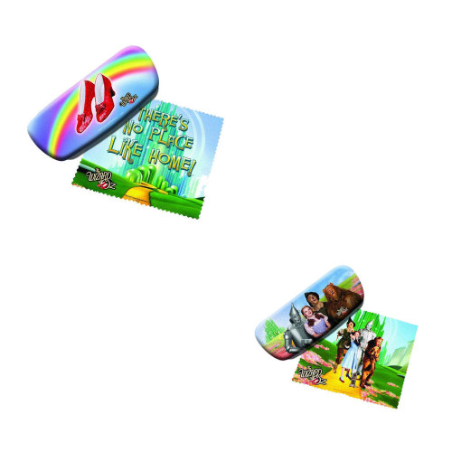 Bundle: Two (2) The Wizard of Oz Eyeglass Cases and Cleaners