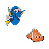 Dory and Nemo Soft Touch PVC Magnets