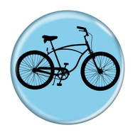 "Bike Road Cruiser Cycling Biking 1.5"" Pinback Buttons"