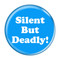Silent But Deadly! Fart Funny Refrigerator Magnets