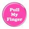 """Pull My Finger Fart Green 2.25"""" Refrigerator Magnet"""