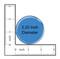 "I Love my Rescue Dog Paw Print Fuscia 2.25"" Refrigerator Magnet"