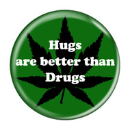 Hugs are better than Drugs Refrigerator Magnets