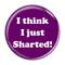 """I Think I Just Sharted! Fart Mint 2.25"""" Refrigerator Magnet"""