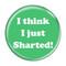 "I Think I Just Sharted! Fart Periwinkle 2.25"" Refrigerator Magnet"