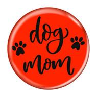 Dog Mom Aqua Refrigerator Magnets