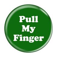 """Pull My Finger Fart Green 2.25"""" Refrigerator Bottle Opener Magnet"""