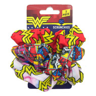 Wonder Woman Scrunchies (3-Pack)