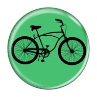 "Bike Road Cruiser Cycling Biking 1.5"" Refrigerator Magnets"