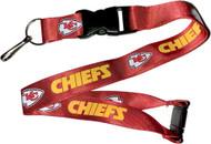 Kansas City Chiefs Lanyard Keychain