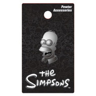 The Simpsons Homer Pewter Lapel Pin