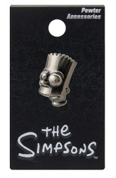 The Simpsons Bart Pewter Lapel Pin