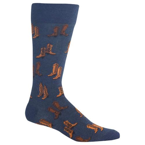 Boots Denim Mens Crew Socks