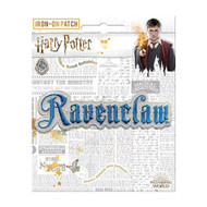 Harry Potter Ravenclaw Name Full Color Iron-On Patch