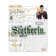 Harry Potter Slytherin Name Full Color Iron-On Patch