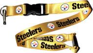 Pittsburgh Steelers Yellow Lanyard Keychain