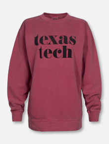 "Texas Tech Red Raiders ""Pristine"" Crew Sweatshirt"
