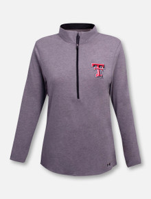 "Under Armour Texas Tech Red Raiders  Women's ""Free"" 1/4 Zip Pullover"
