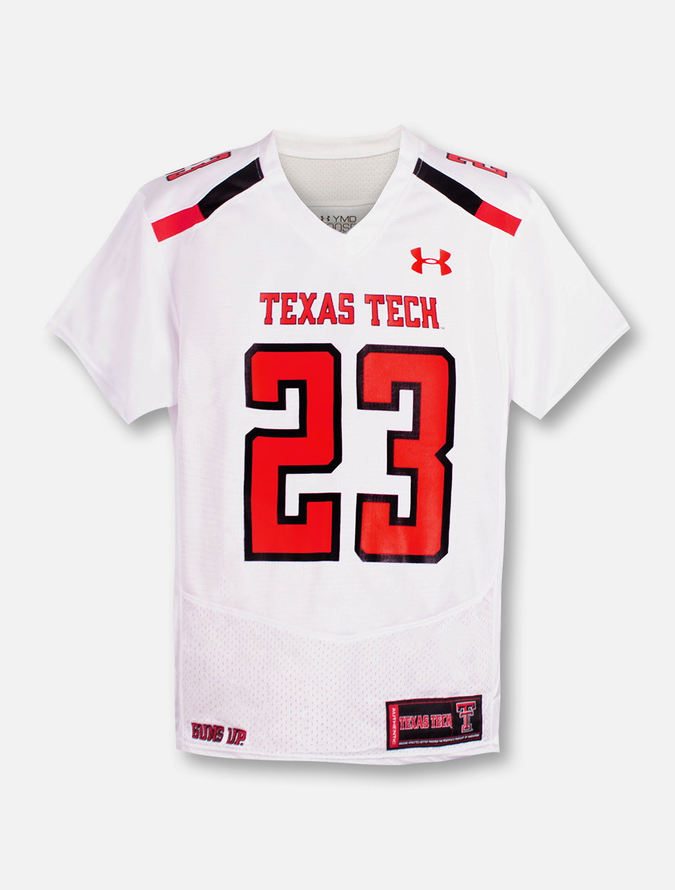 7916630b9e5 Under Armour Texas Tech Red Raiders 2018 Sideline YOUTH Jersey ...