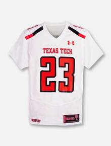 Under Armour Texas Tech Red Raiders 2018 Sideline YOUTH Jersey #23