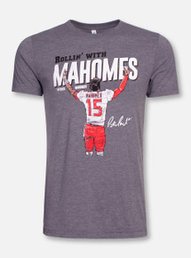 """Texas Tech Red Raiders """"Rollin' With Mahomes """" Short Sleeve T-Shirt"""