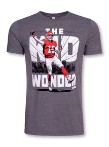 "Texas Tech Red Raiders Patrick Mahomes ""The Kid Wonder"" Short Sleeve T-Shirt"