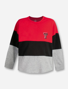 "Arena Texas Tech Red Raiders Double T ""Handplant"" TODDLER Long Sleeve T-Shirt"