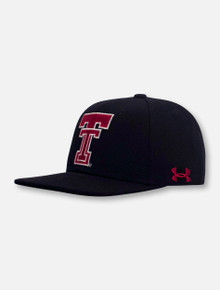 """Under Armour Texas Tech Red Raiders """"Flatbill Throwback"""" YOUTH Snapback Cap"""