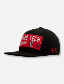 "Under Armour Texas Tech Red Raiders ""Go The Distance"" YOUTH Flatbill Snapback Cap"