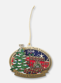 "Texas Tech Red Raiders ""Caroler"" 2018 Collector's Ornament"