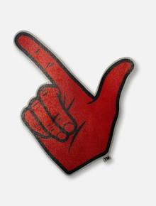 Texas Tech Red Raiders Guns Up Hand Logo Decal