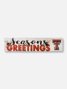 "Texas Tech Red Raiders Double T ""Season Greetings"" Wall Decor"