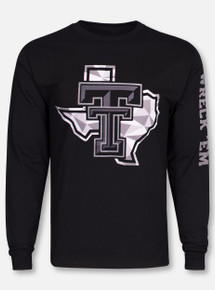 "Texas Tech Red Raiders ""Shattered Pride"" Long Sleeve T-Shirt"