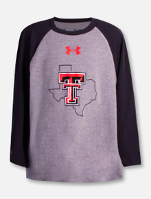 """Under Armour Texas Tech Red Raiders YOUTH """"State Pride"""" Raglan"""