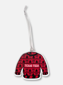 "Texas Tech Red Raiders ""Ugly Sweater"" Ornament"